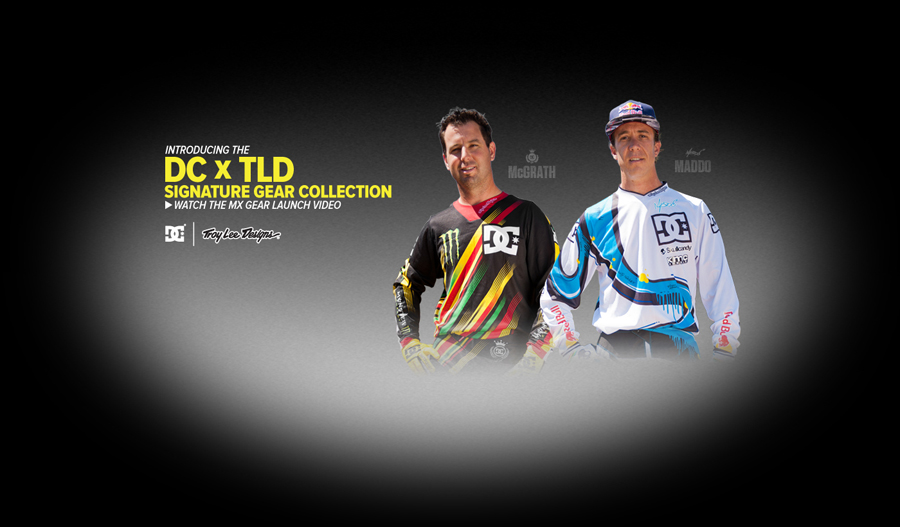 DC X Troy Lee Designs Moto Gear!