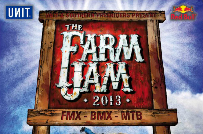 Unit Farm Jam 2013 calls for international riders!