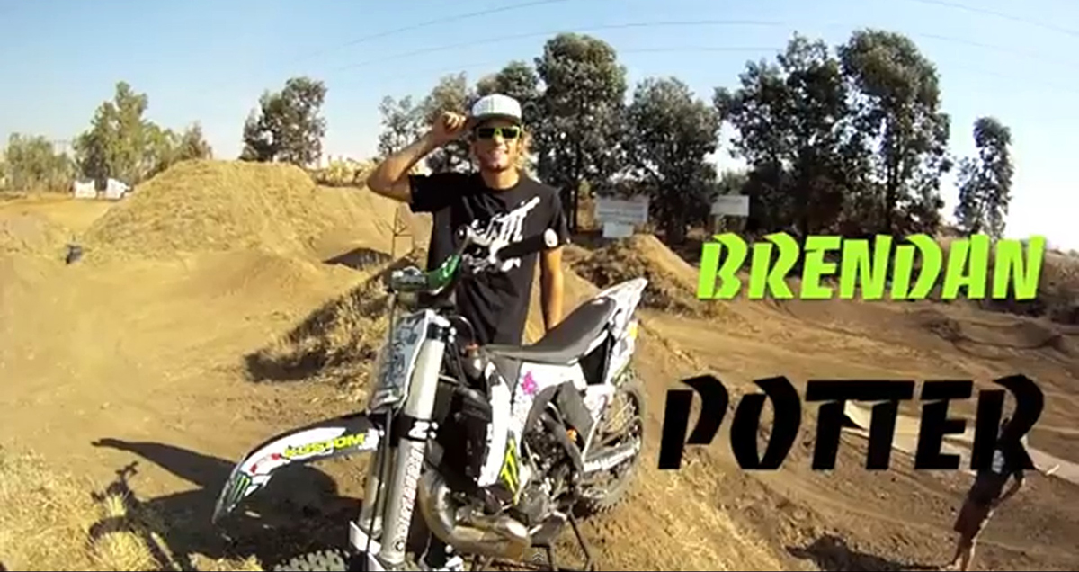 Meet South African FMX rider Brenden Potter