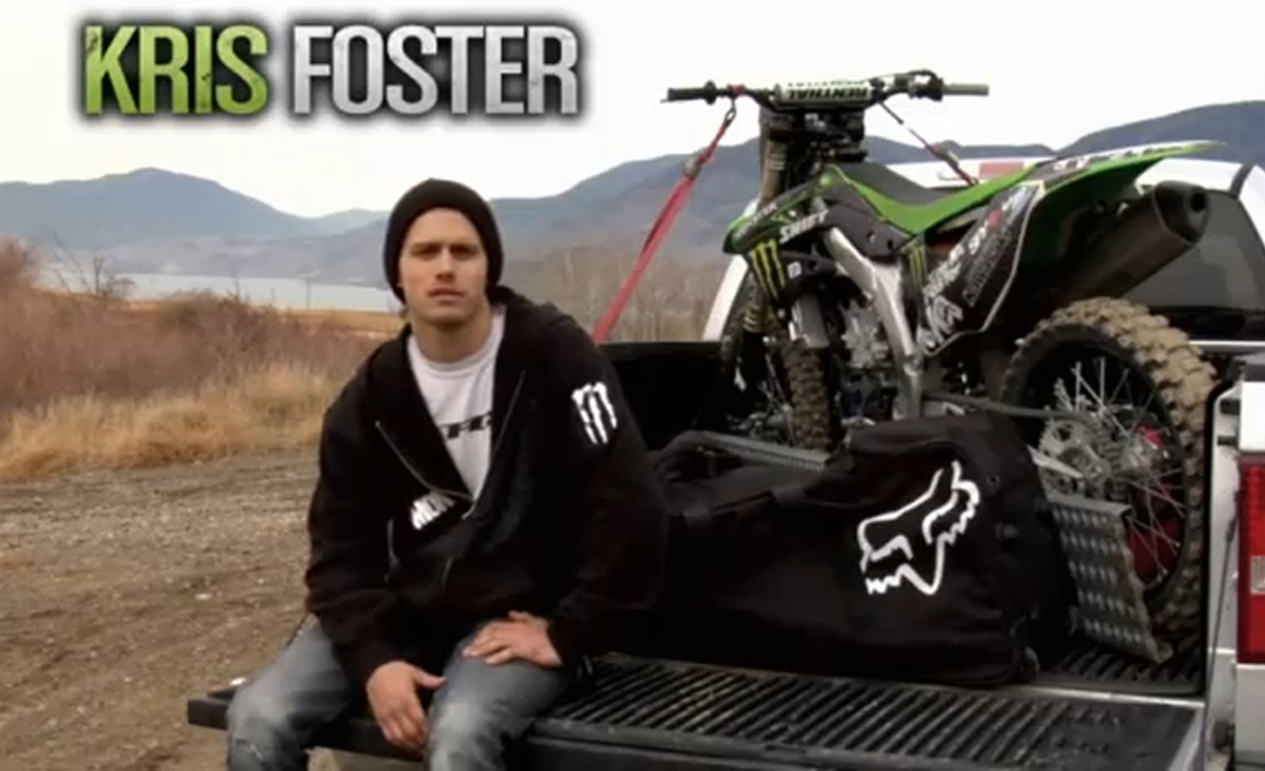 Monster Energy presents Canadian FMX rider – Kris Foster