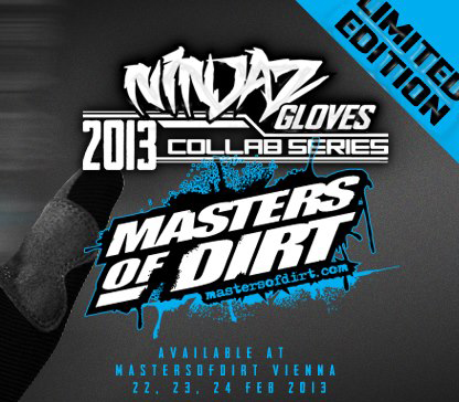 Ninjaz X Masters Of Dirt ltd edition Collab Gloves