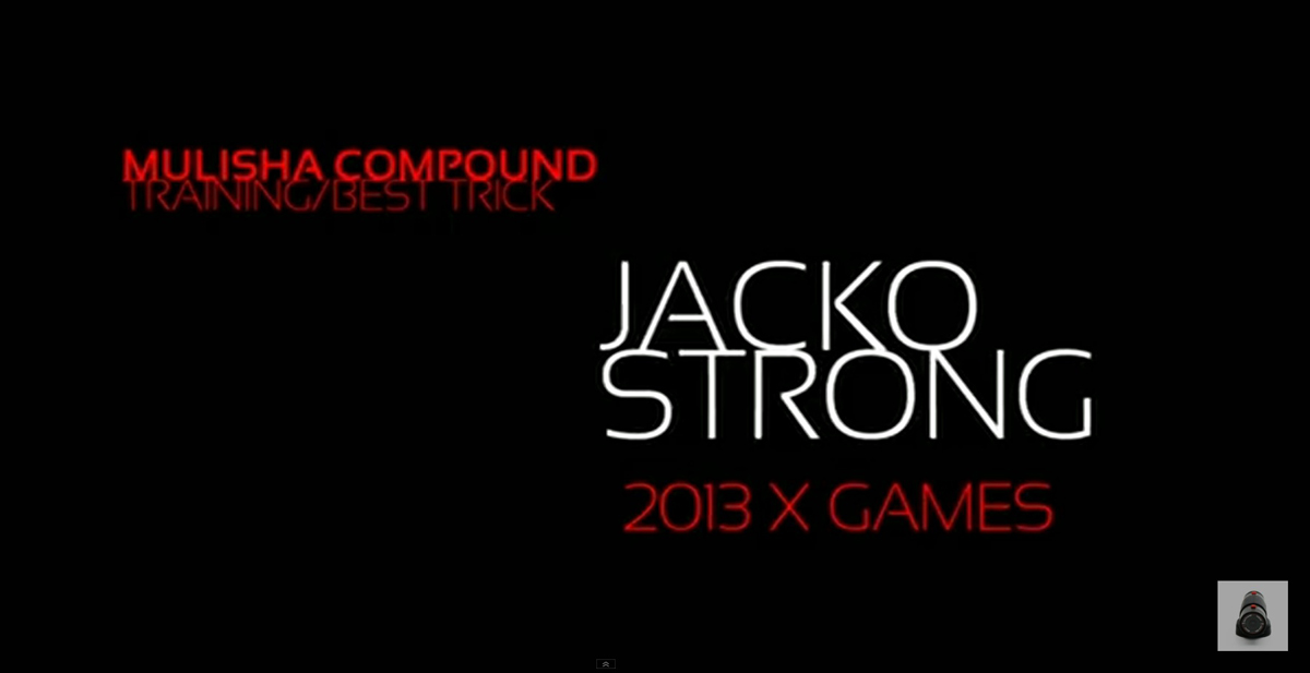 Jackson Strong X Games 2013 Best Trick innovation!