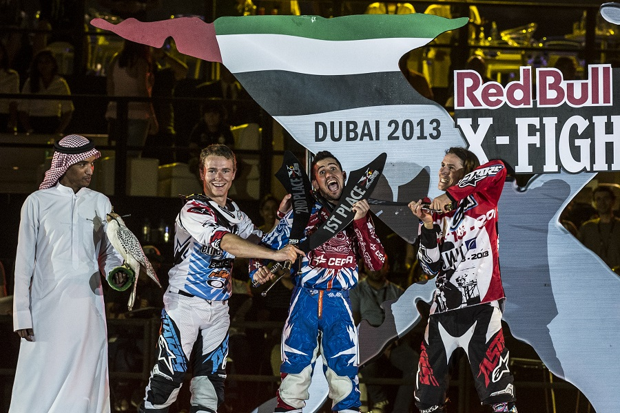 Red Bull X Fighters 2013 round 2 – Dubai