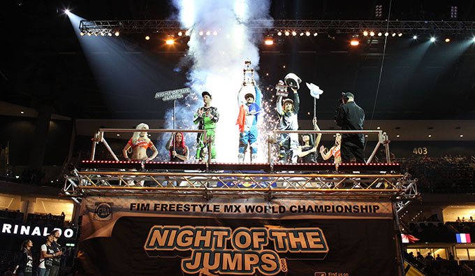 Night of the Jumps rounds 2 & 3 in Berlin, Germany