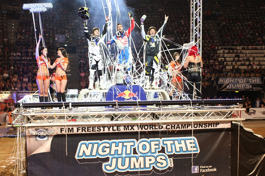 Danny Torres wins Night of The Jumps Munich!