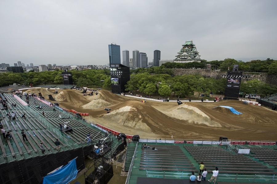 Red Bull X-Fighters Osaka – Course overview with Ronnie Renner