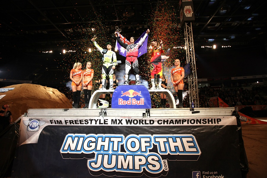 Adelberg wins NIGHT of the JUMPS in Riga as Podmol takes championship lead