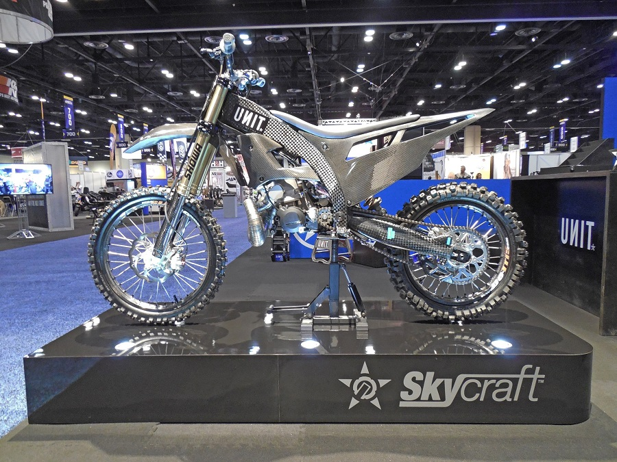 Unit Unveils the Skycraft – The worlds first purpose built FMX Bike