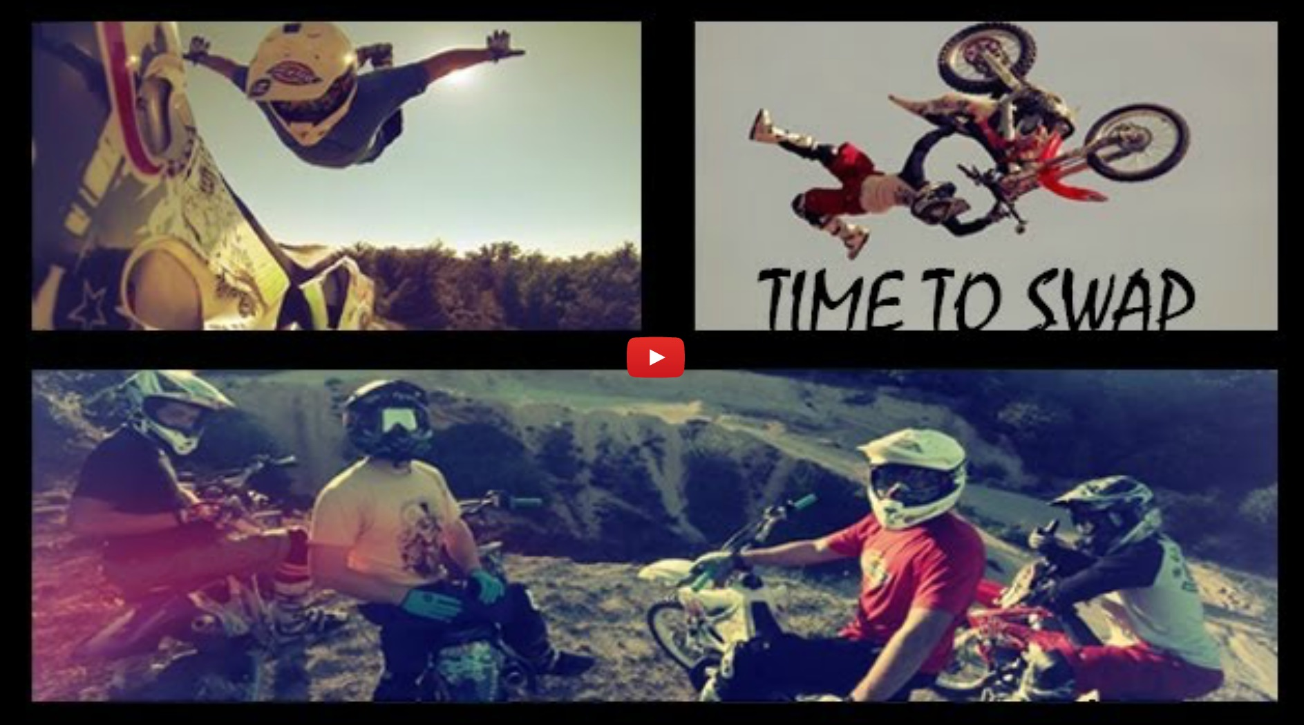 French FMX Crew Rage 'N Respect : 'Time to Swap'