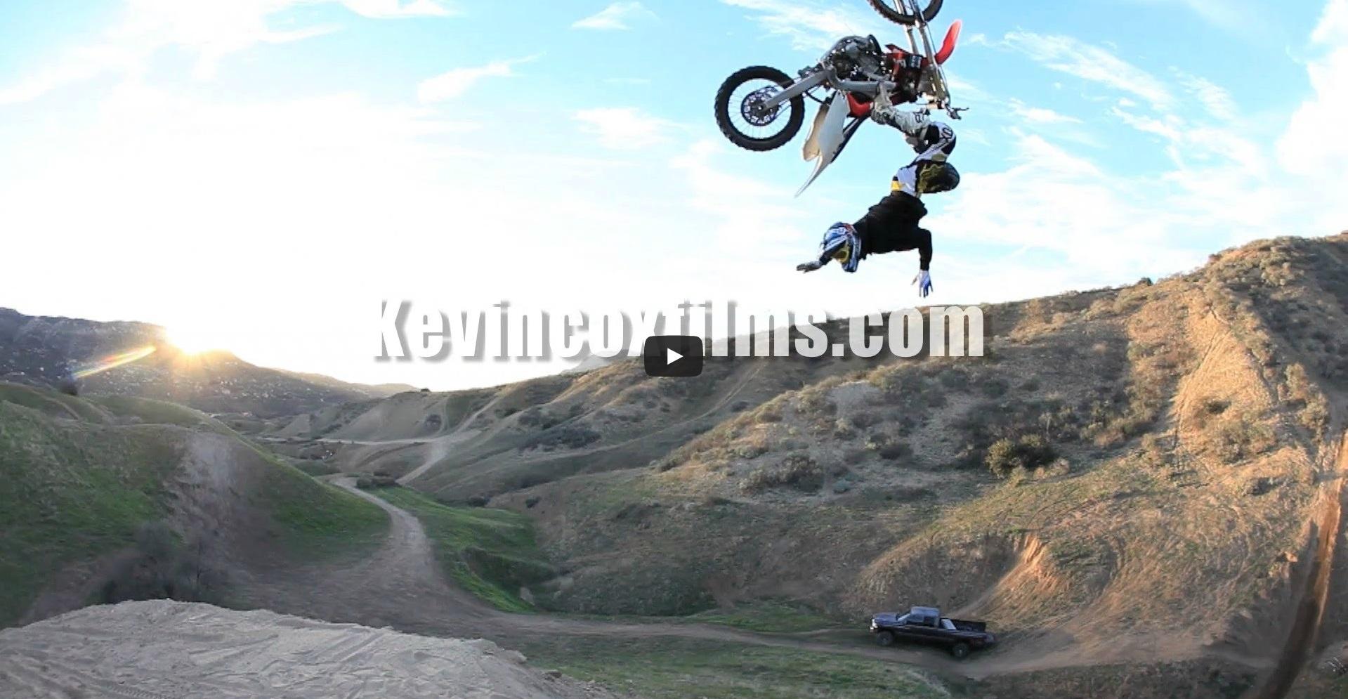 DBK rider Vinnie Carbone – Natural Terrain Backflips in the Hills!
