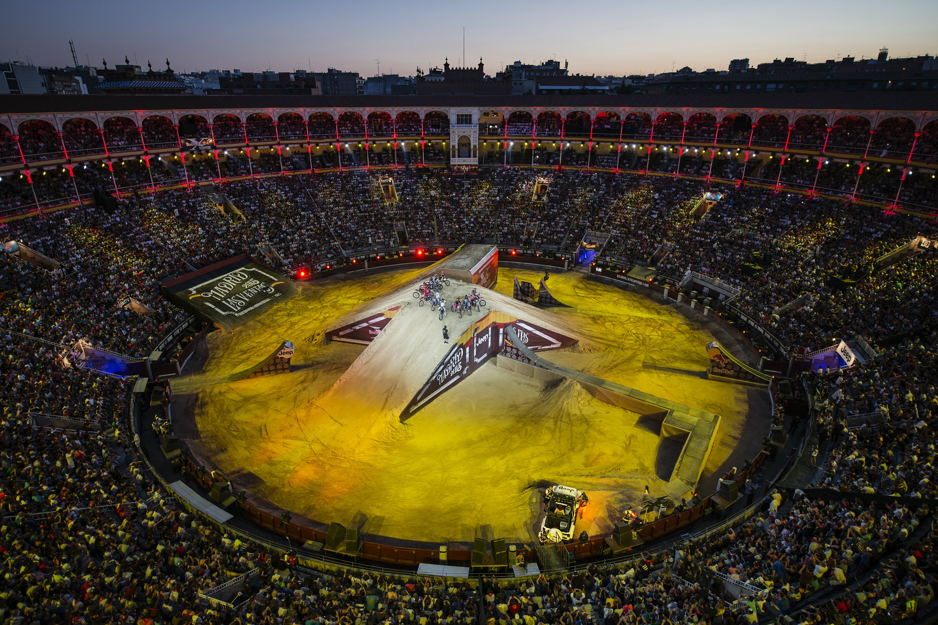 Red Bull X-Fighters Madrid 2016