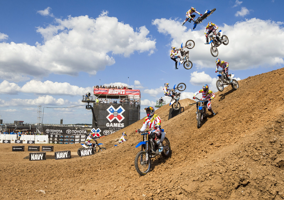 Riders List for X Games Austin 2016 FMX Freestyle and Big Air Announced!