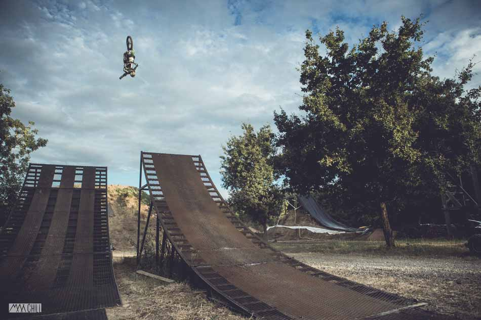 Riders Get Loose at Corentin Corbet's FMX Jam in France