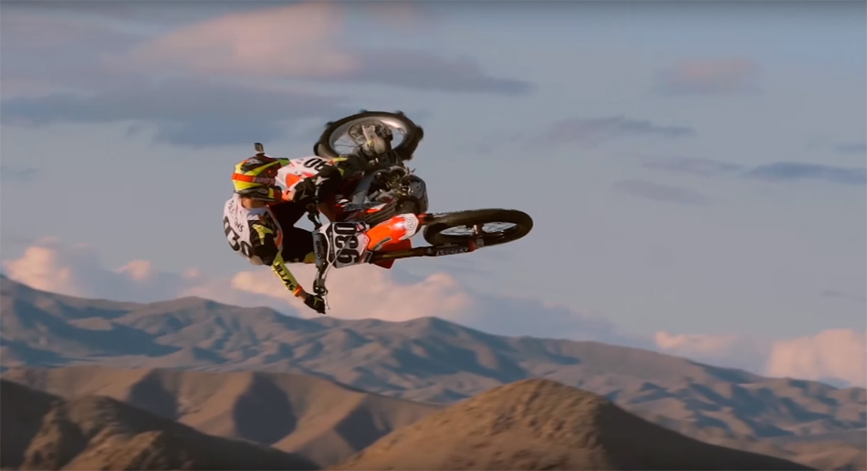 A Freeride Motocross Paradise in the Dunes of Death Valley | Tom Parsons