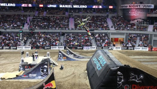 2016 FMX World Champion Maikel Melero Spins To Win at Night of the Jumps Gdansk