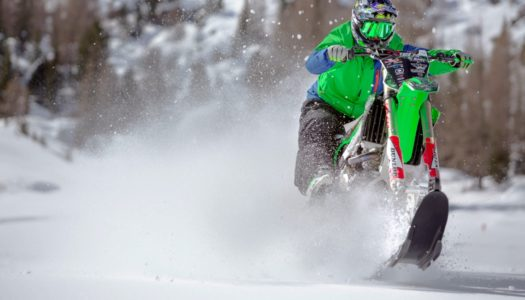 Alvaro Dal Farra Transforms His KX 450F For Some Winter Snow Sessions