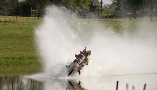 Travis Pastrana Is Let Loose At Kevin Windham's Compound: Pond Skimming – Roosting – Whipping
