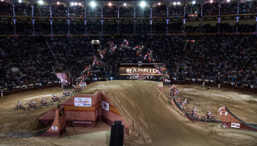 Levi Sherwood Double Flips His Way To Victory At Red Bull X-Fighters Madrid
