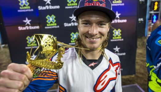 Levi Sherwood wins Moto X Best Trick Gold | X Games Minneapolis