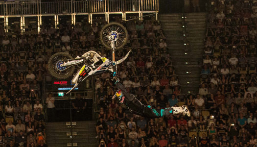 Luc Ackermann Double Flips To Victory At Night Of The Jumps Munich